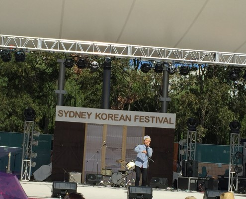 J-Rex at Korean Festival