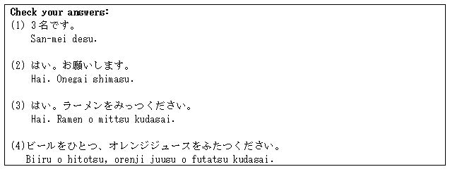 Japanese Language Tips for Eating Out