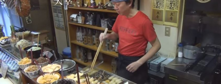 Eat like a local in Japan - Oden-ya