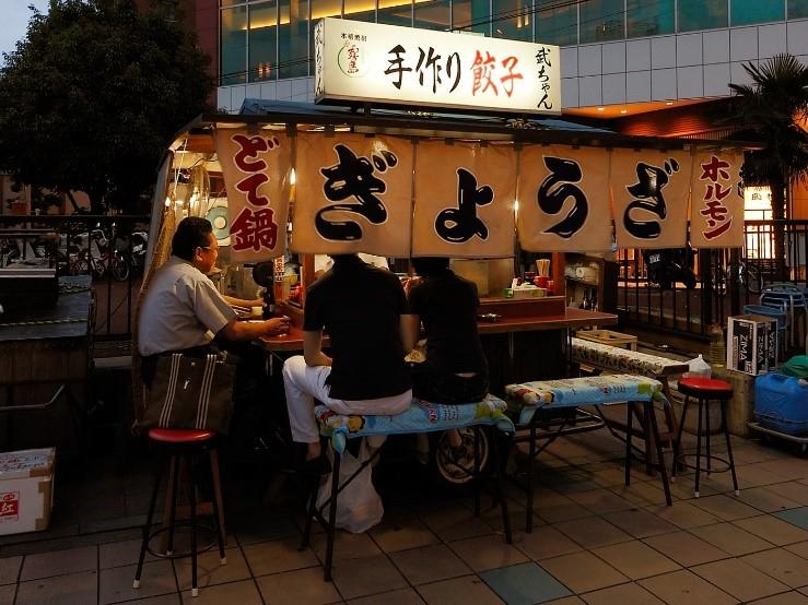 Eat like a local in Japan - yatai