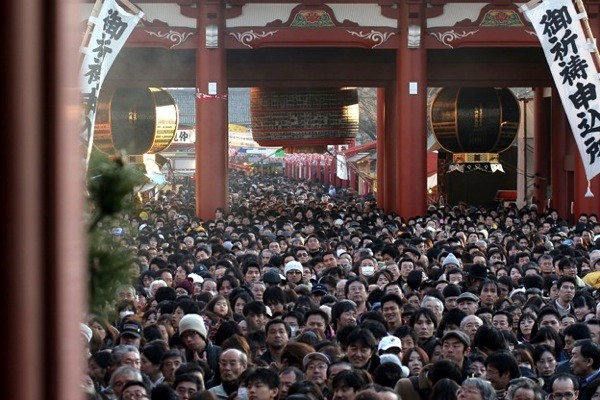 New Year in Japan - Hatsumoude