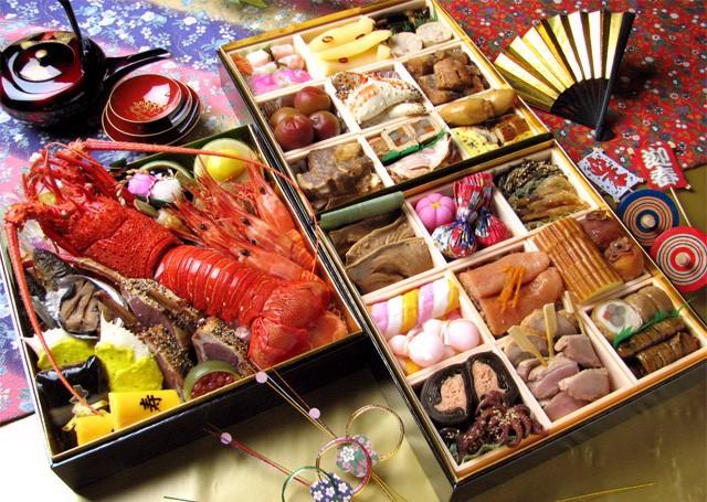 Japanese New Year Food - Osechi